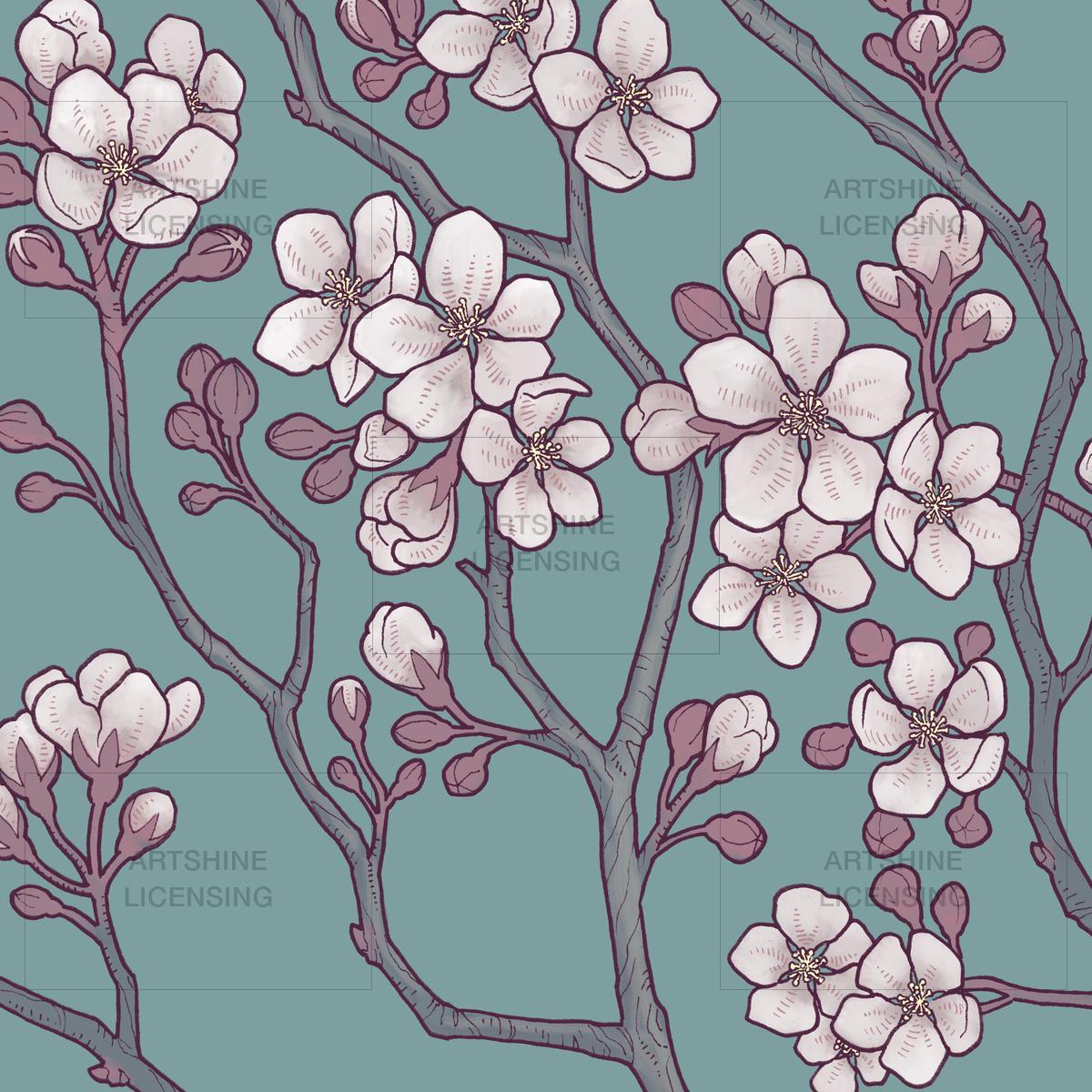 Apple Blossom Branch #1