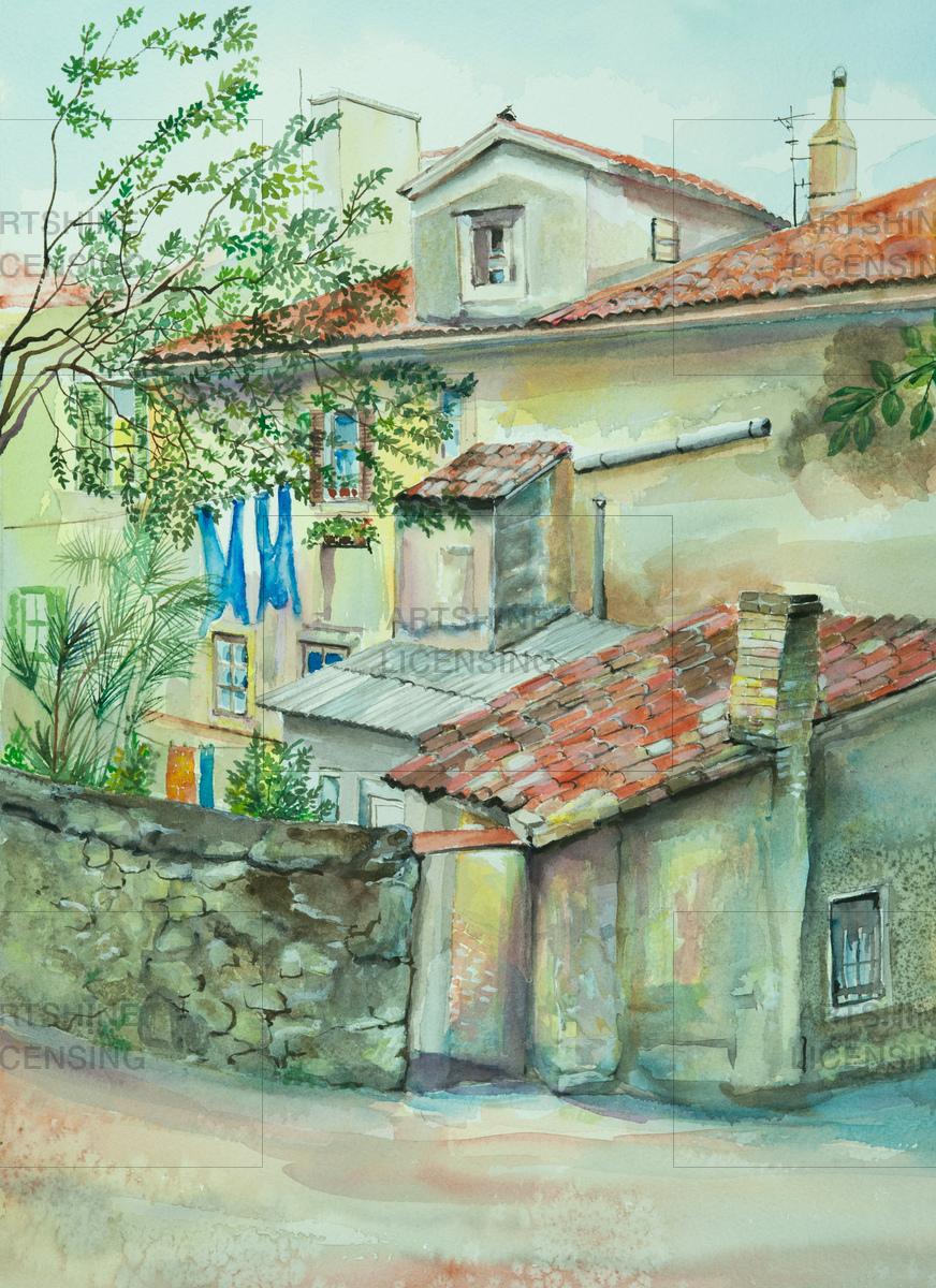 Volosko - Old seaport village, CROATIA
