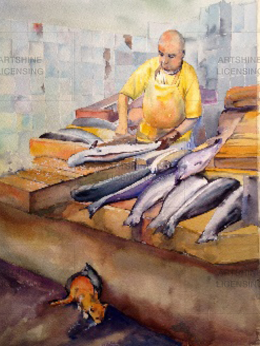 The Fishmonger and Friends - MOROCCO