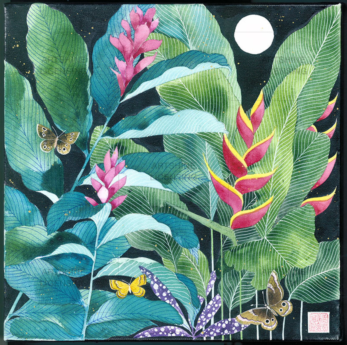 Balinese garden 3
