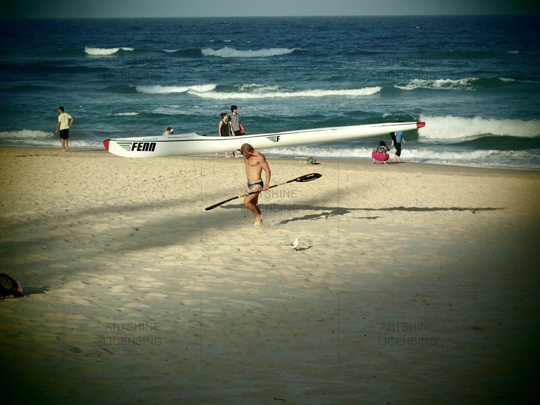Aussie surfer