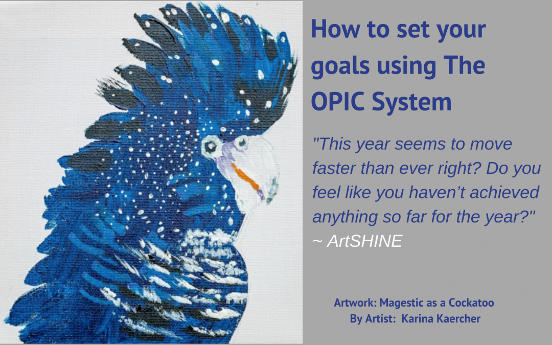 How to set your goals using The OPIC System
