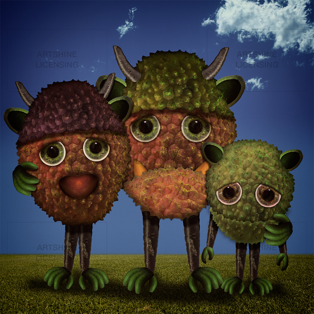 Lychee monster family