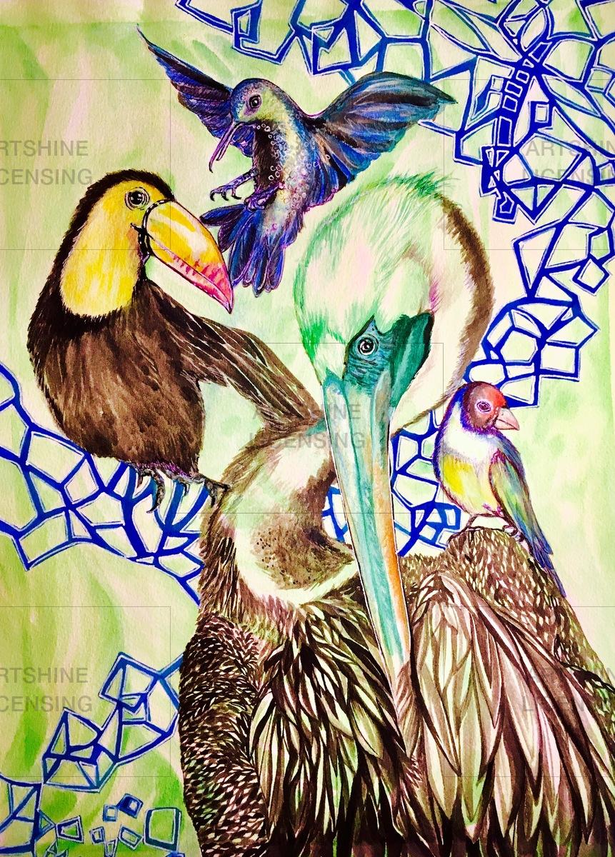 A birds life !