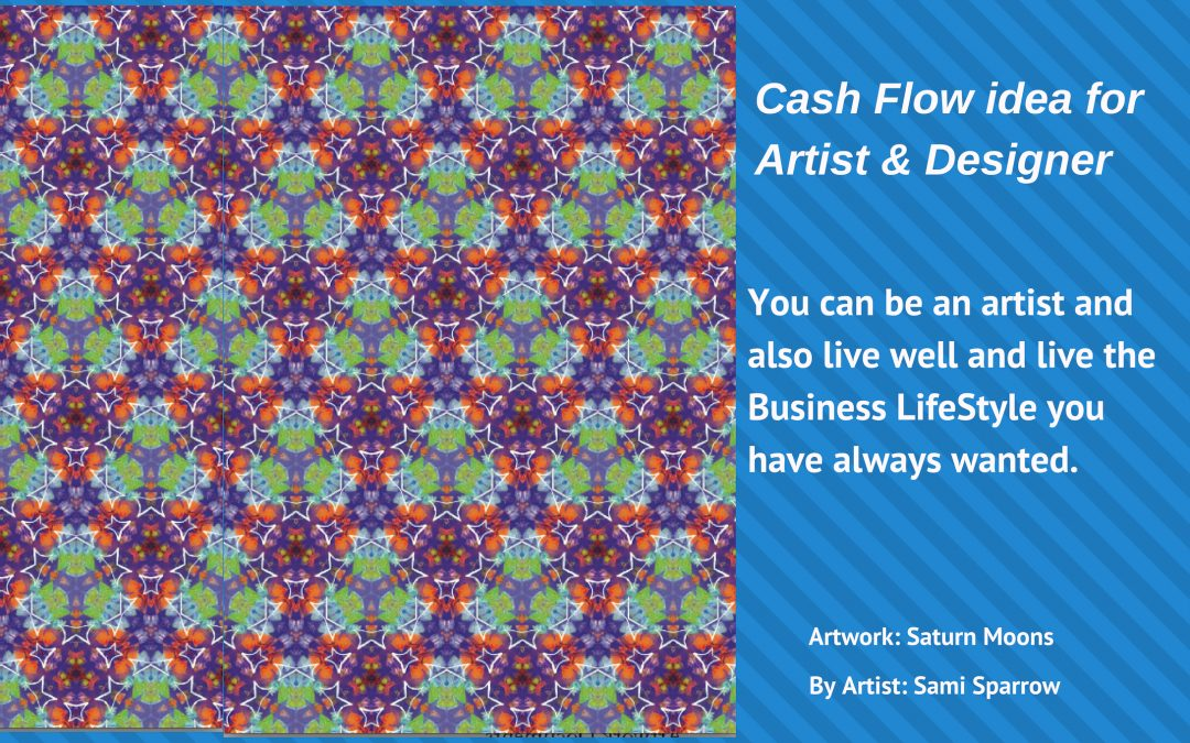 Here's a Cash Flow idea to see your Art & Design Practice prosper & grow.