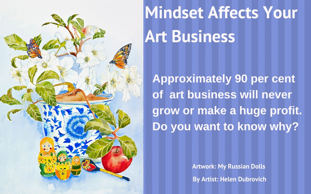 Mindset Affects Your Art Business.