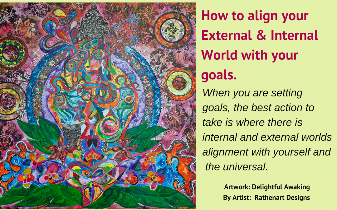 How to align your External & Internal World with your goals.