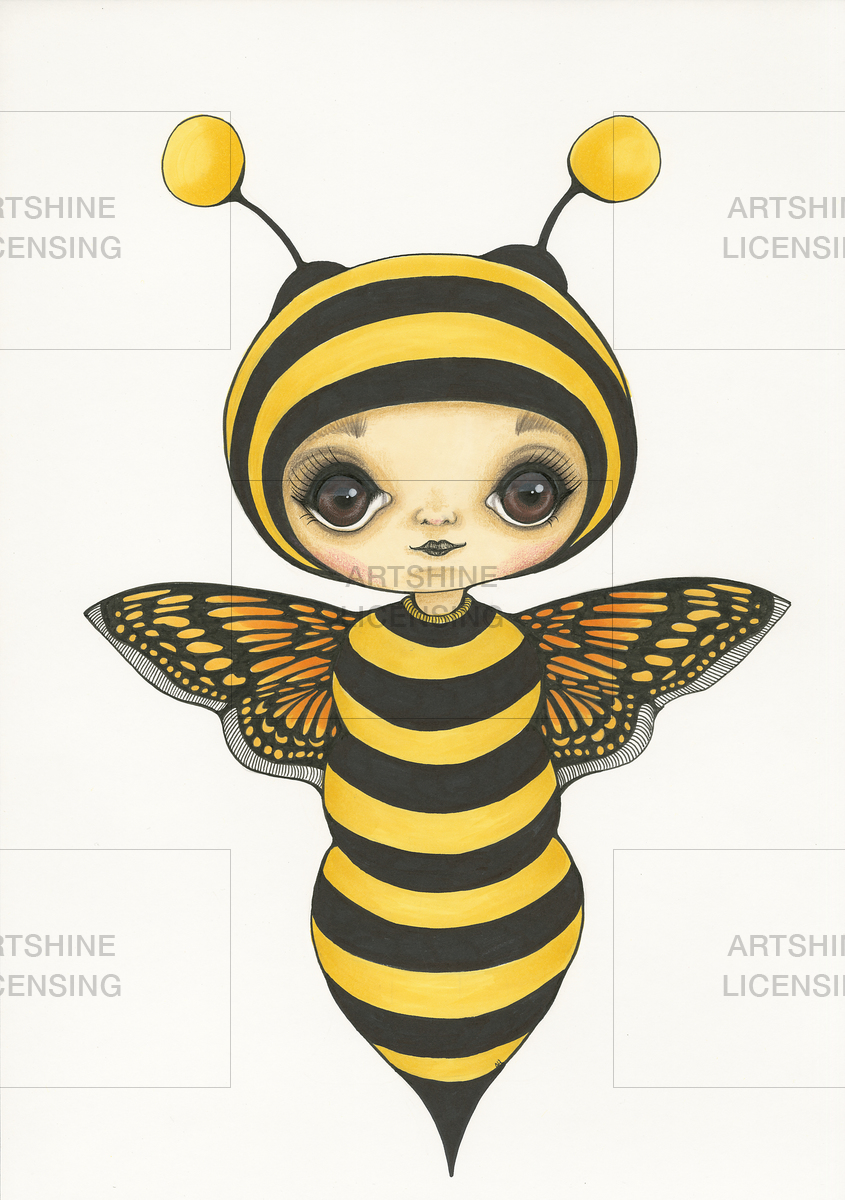 Little Wasp Girl