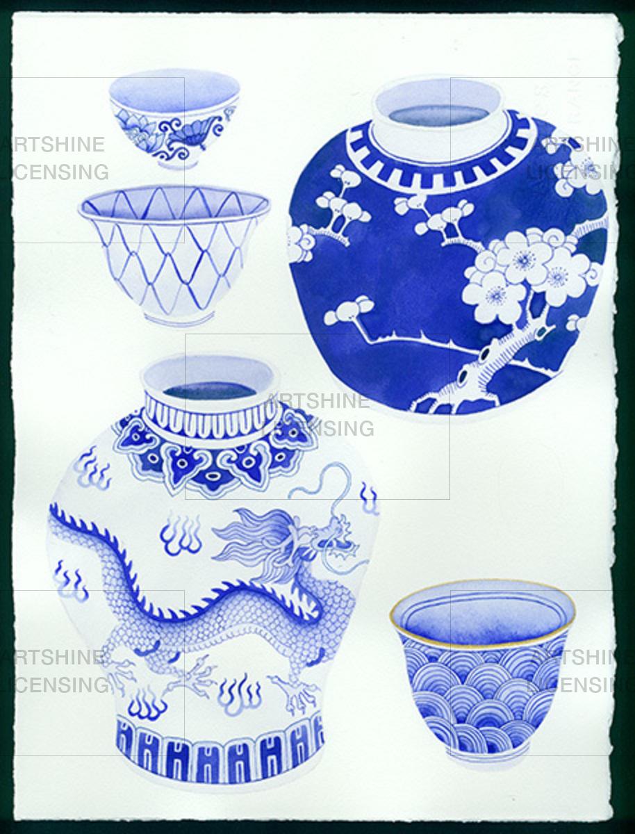 chinese porcelain: ching chong series