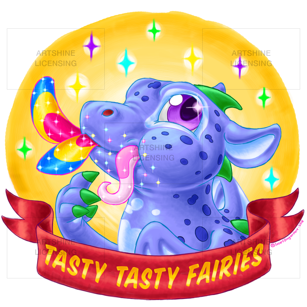 Tasty Tasty Fairies - Dragon version
