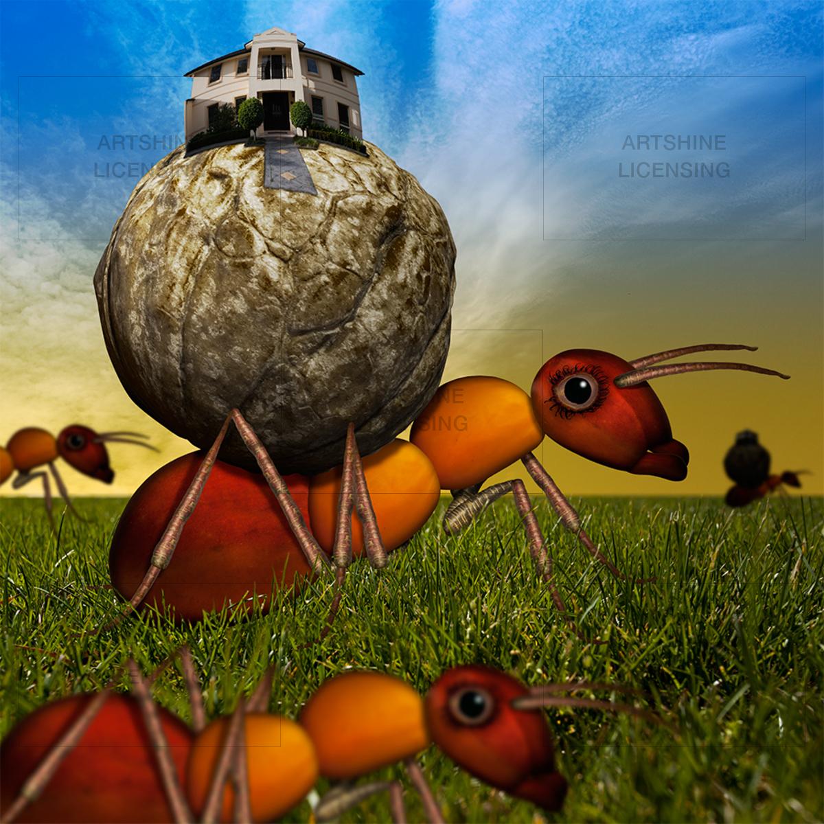 Carrot Leg Ants Pilgrimage