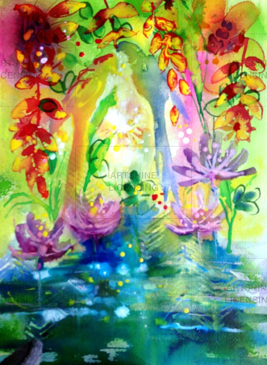 Fluid Bali Pond