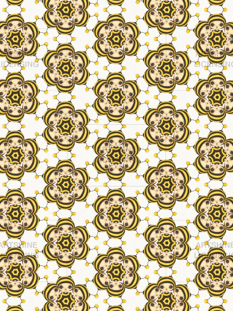 BeeGirl Pattern 1