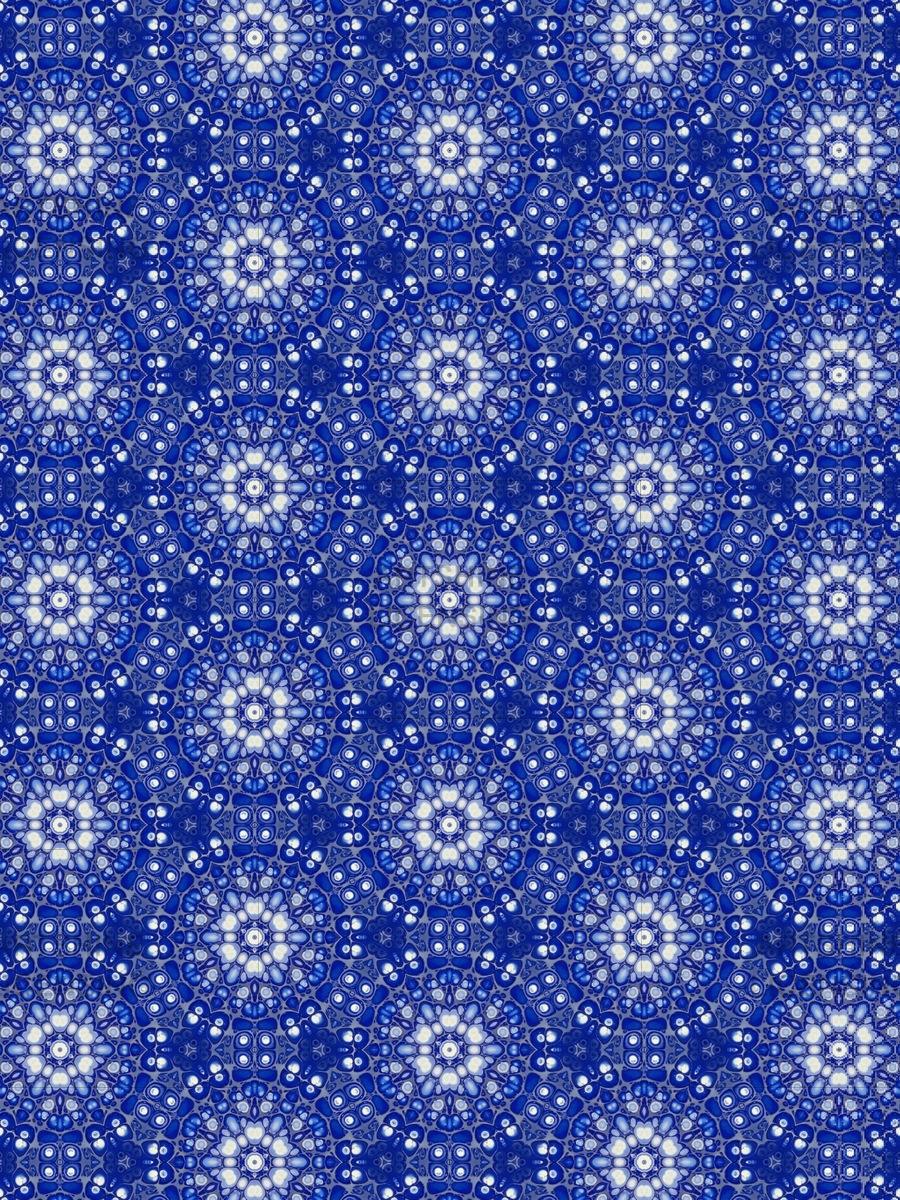 Blue Pour Pattern