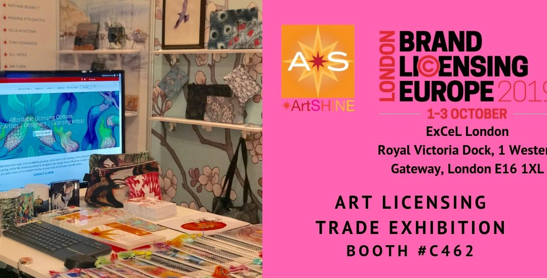 'Bright Stars from Australia' – Australia's artistic talents set for the world stage with ArtSHINE industries at London's Brand Licensing Europe.