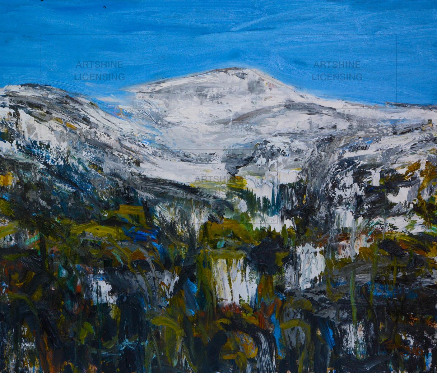 snowy mountains - snowy 14